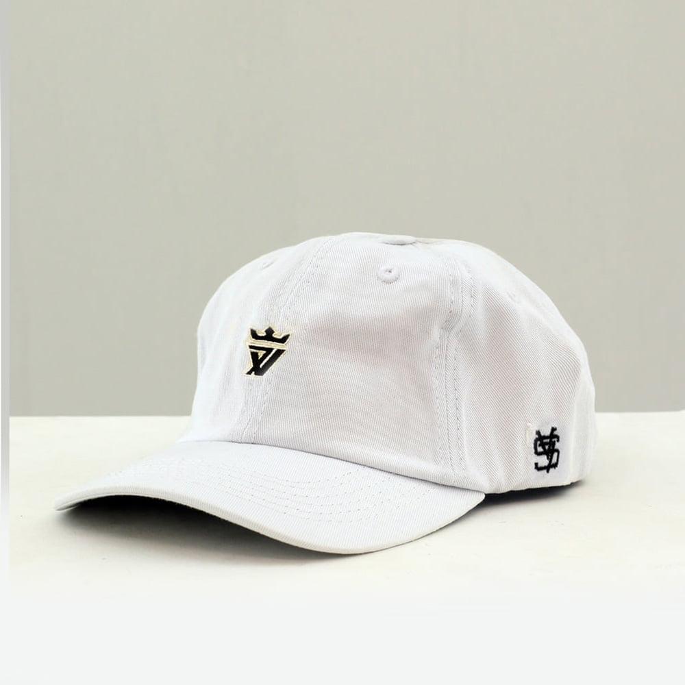 DAD CAP CLASSIC WHITE BLUE