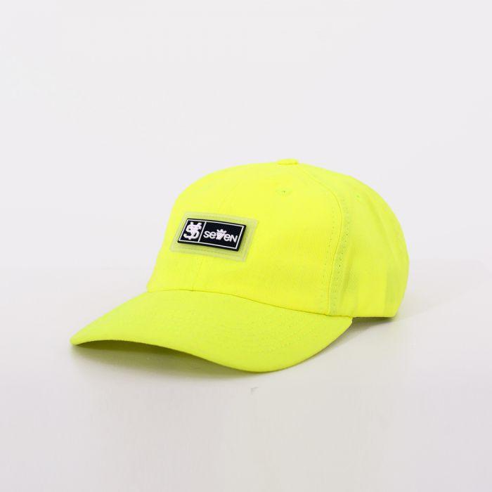BONÉ DAD CAP SEVEN BRAND NYLON NEON