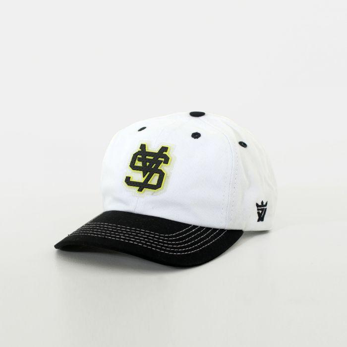 BONÉ DAD CAP SV7 BLACK WHITE