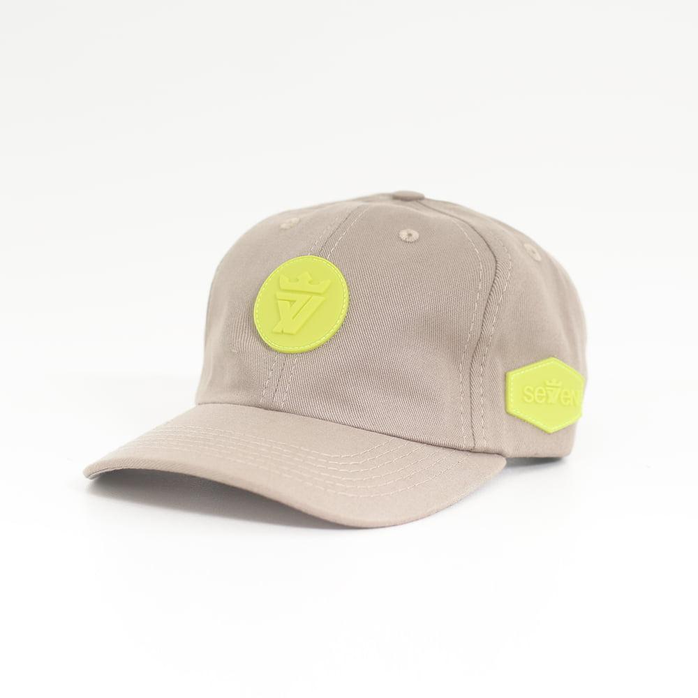 DAD CAP BEGE GREEN