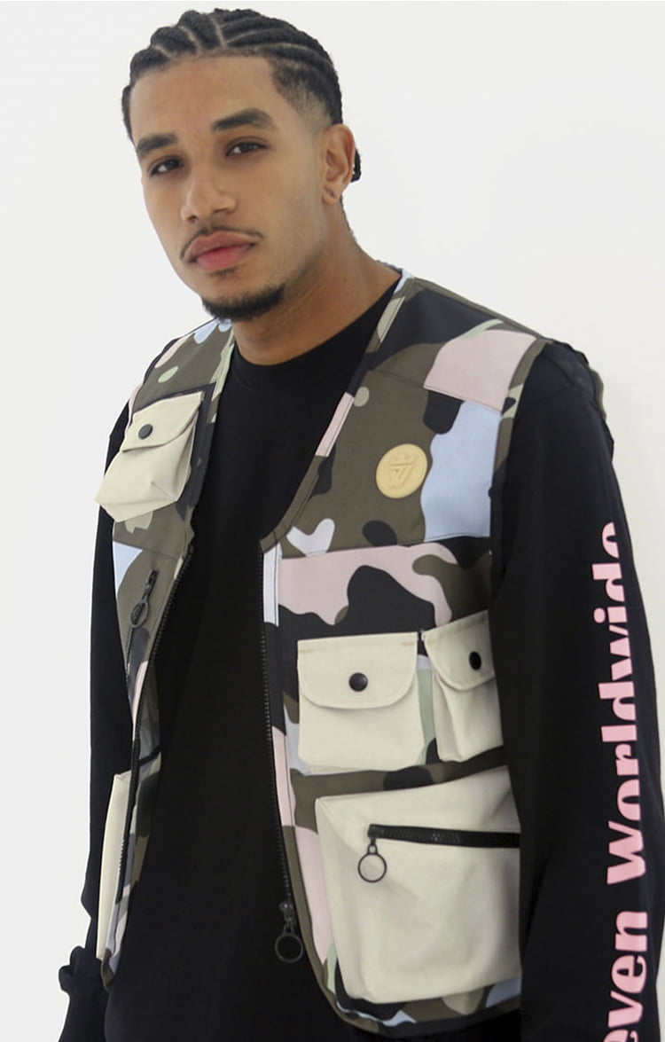 COLETE ARMY CAMO BEGE