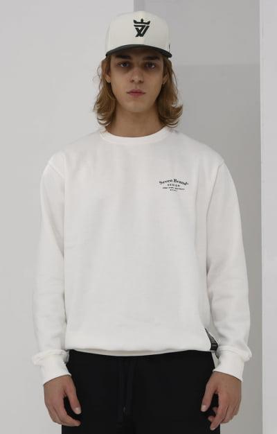 MOLETOM DESIGN OFF WHITE