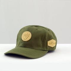 BONÉ DAD CAP GREEN BEGE