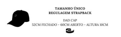 DAD CAP PRETO