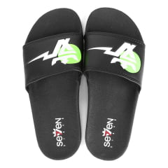 CHINELO SLIDE BOLT SOON GREEN