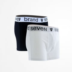 PACK CUECA BOXER BLACK / WHITE